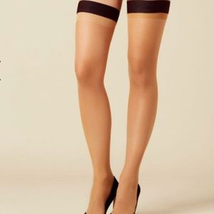 b4afff84a Agent Provocateur Accessories - NWT Agent Provocateur Hood Up Stockings  Tease Me